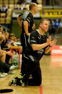 Jakob Vestergaard in actiune - incearca sa transmita cat mai bine indicatiile!