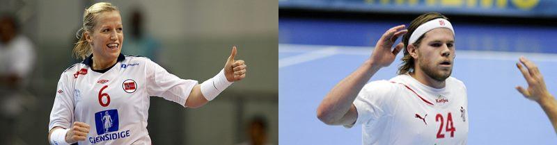 Scandinavia la putere in handbalul mondial! Mikkel Hansen (DAN) si Heidi Loke (NOR) sunt cei mai buni jucatori pe 2011!