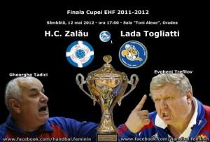 Tadici si HC Zalau se afla in fata unei partide infernale, care poate tine Cupa EHF in Romania!
